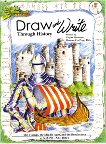 Draw and Write Through History Book 1: Creation through Jonah